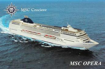 Msc Opera 1 giugno da Bari